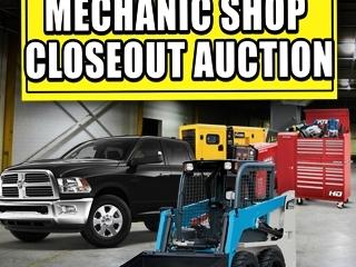 Onsite Event: Mechanic Shop Closeout Auction
