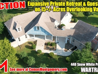Expansive Private Retreat & Guest House on 15� Acres Overlooking Valley - AUCTION Sept. 26th