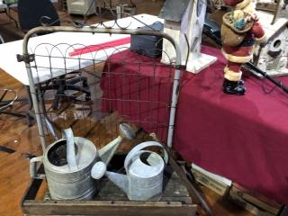 HUGE , Stoneware, Crocks, Primitives,  Household, Antiques  & More