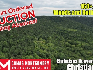 Court Ordered Auction - Selling Absolute! 160+/- Acres - Woods and Rolling Hills - ONLINE ONLY AUCTION ends Oct. 12th