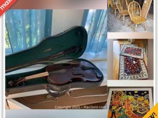Arlington Downsizing Online Auction - Coolidge Road