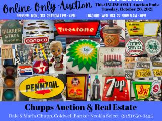 Online Only Public Auction -  10/26