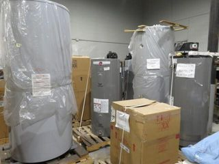 TUE OCT 28-Online Auction of Surplus Faucets, H/W Heaters, A