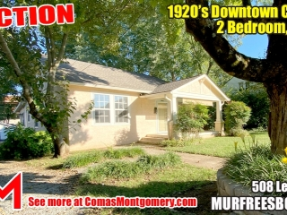 1920's Downtown Cottage - 2 Bedroom 2 Bath - Sunroom - Office - AUCTION Nov. 2nd