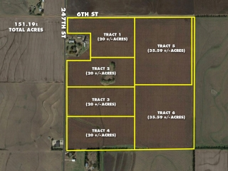 Sedgwick County) 151 +/- Acres Offered in 6 Tracts