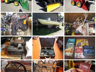 Rick & Stacy Knickelbein Exotic Mounts, Antiques, Sporting Goods, and Tools