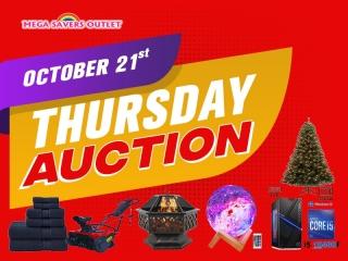 THURSDAY NIGHT AUCTION SALE