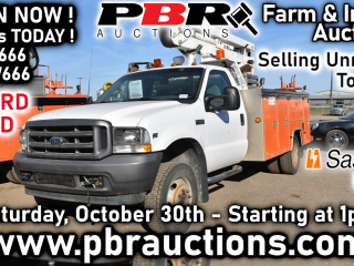 Large Unreserved Online Only Farm & Industrial Auction