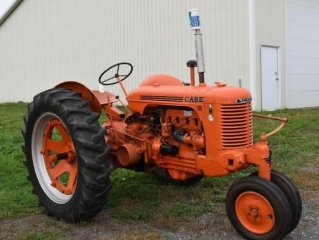 1945 Case SC Tractor, Boss 8' V-Plow, Lawn Tractors, Snowblowers, Storage Building & More