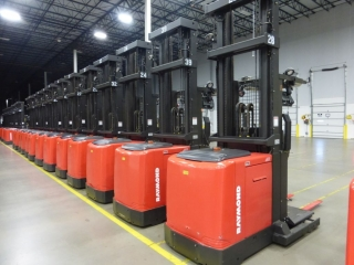 Rolling Stock & Support Equipment from Million Square Foot Distribution Center